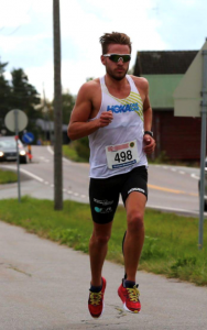mann som løper