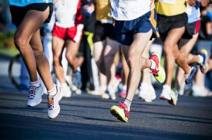 folk som løper