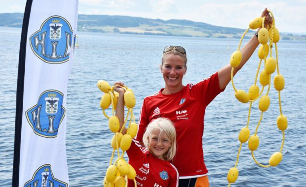 Ny open water bane på Mjøsa